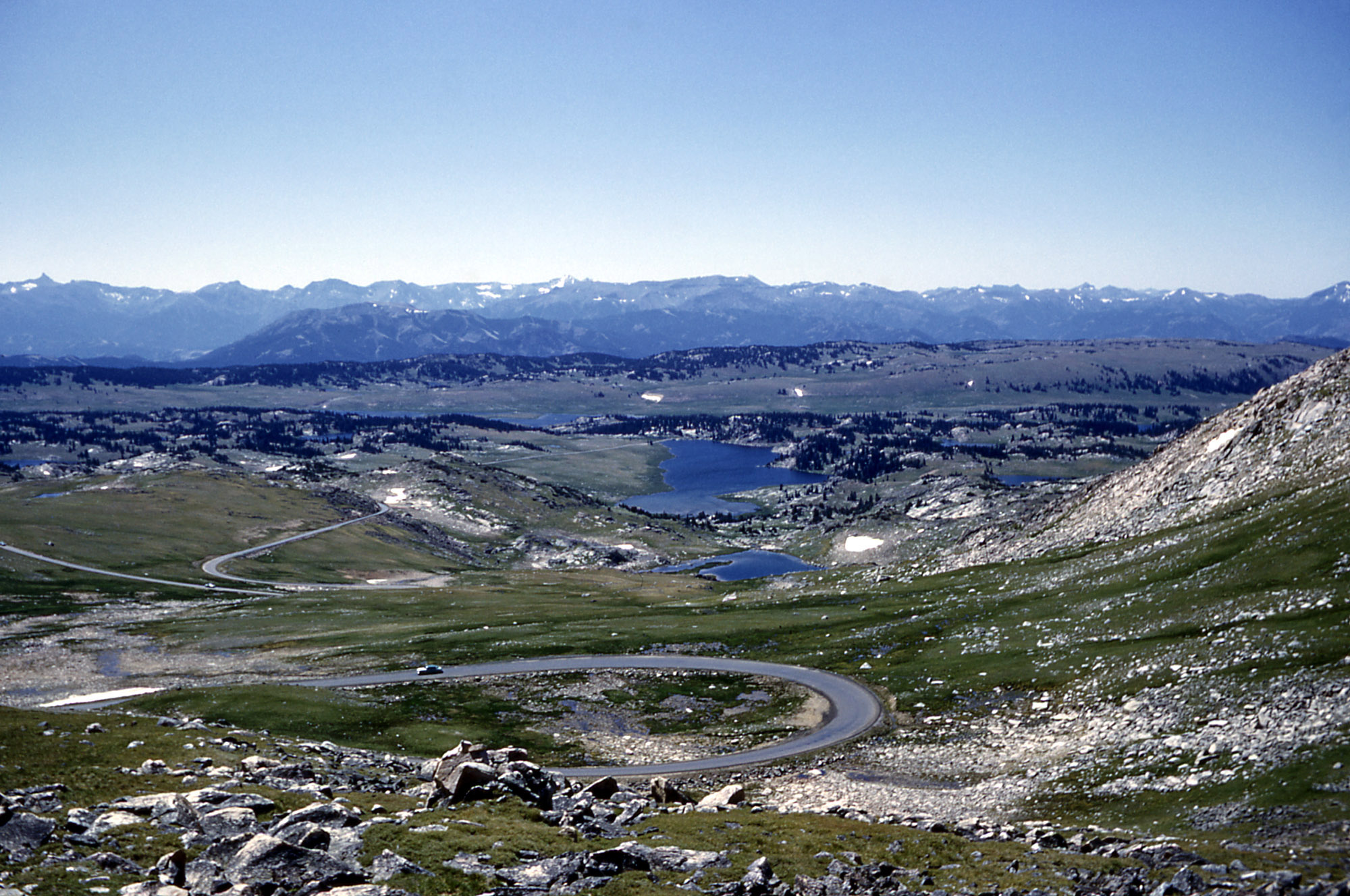 SE view from Beartooth Highway R Robinson No date